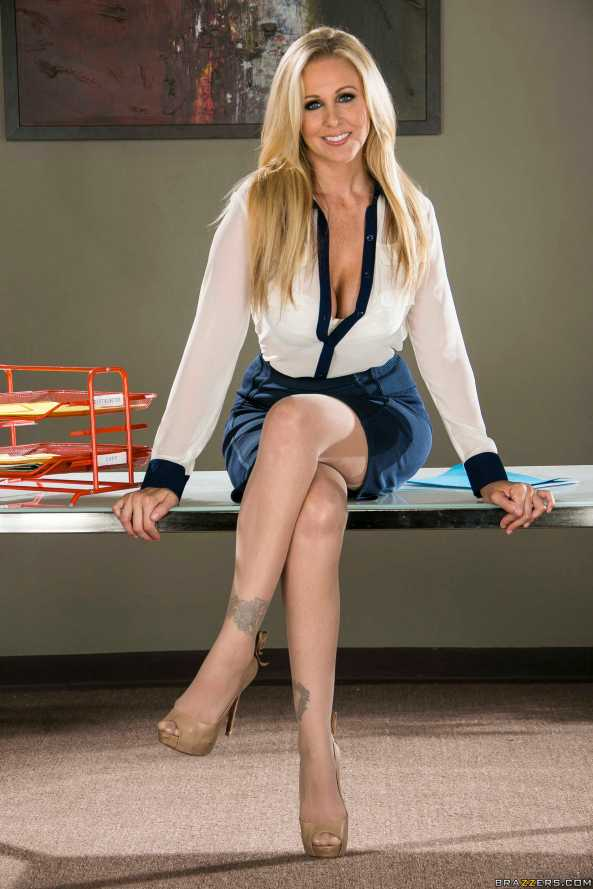 julia ann crossed legs